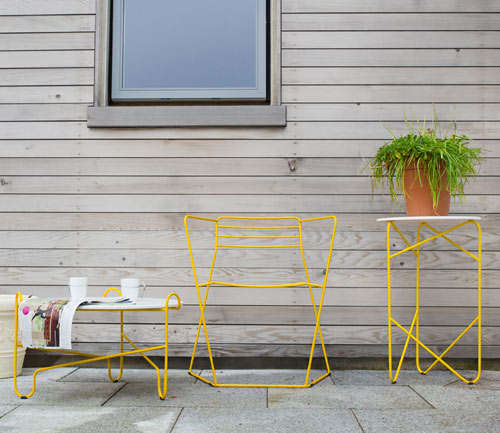 Bright Bent Steel Furniture