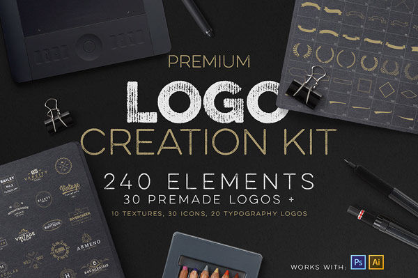 DIY Logo Design Kits