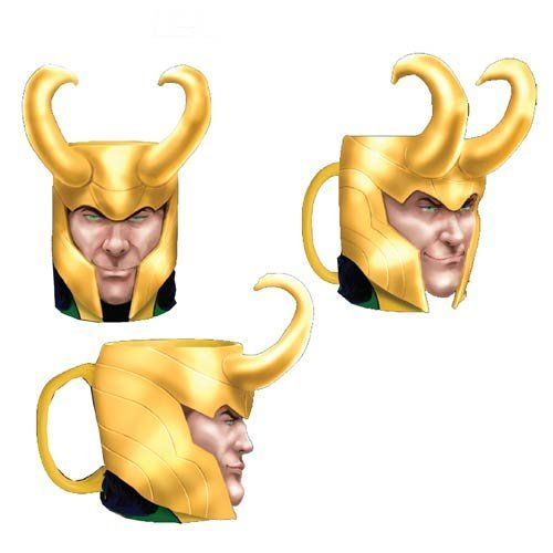 Horned Villain Mugs