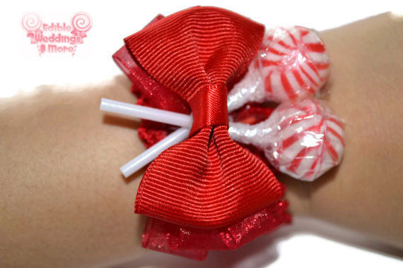 Unconventional Candy Corsages