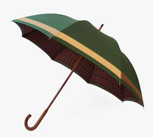 london undercover green line umbrella
