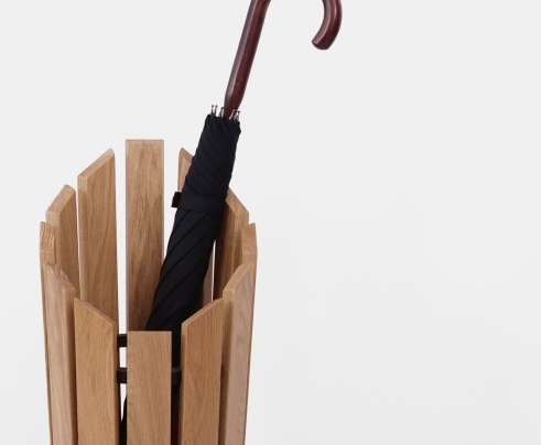 London Undercover Oak Umbrella Stand