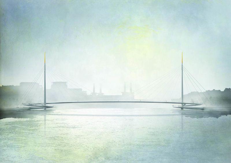 Urban Metropolis Pedestrian Bridges