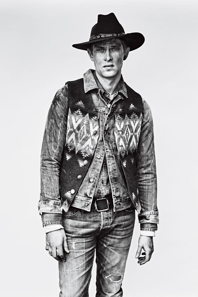 Rugged Cowboy Editorials