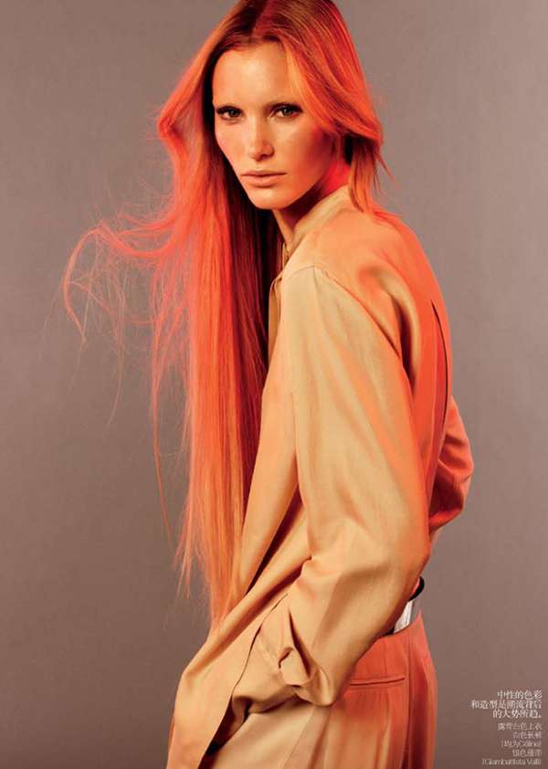Fire-Hued Editorials