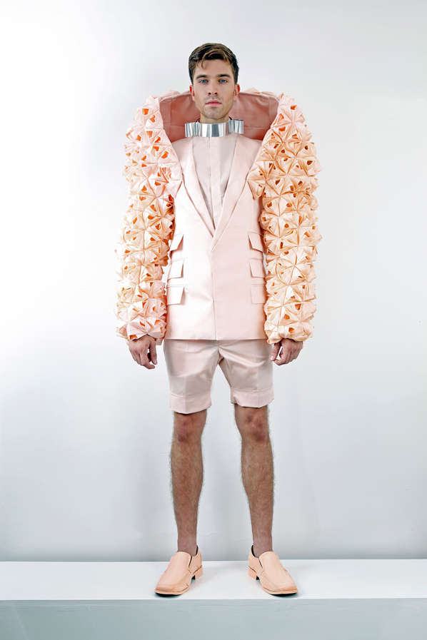 Sculptural Accent Garments