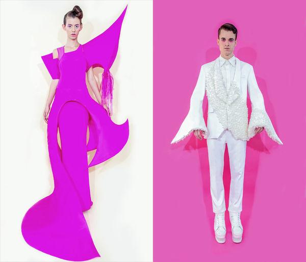 Conceptually Sculptural Fashions