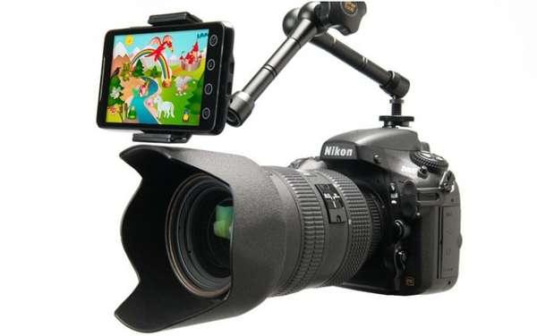 Child-Capturing Camera Clips