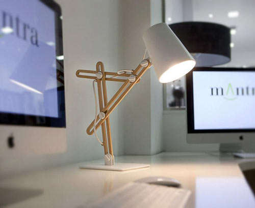 Knobby Desk Lights