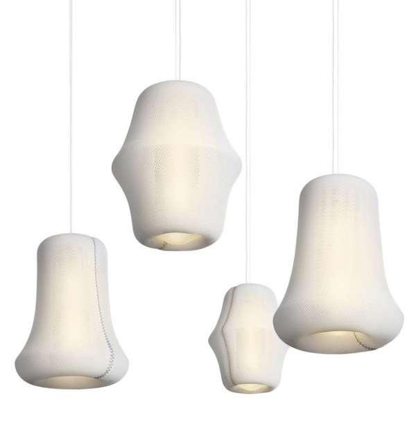 Woven Lantern Lighting