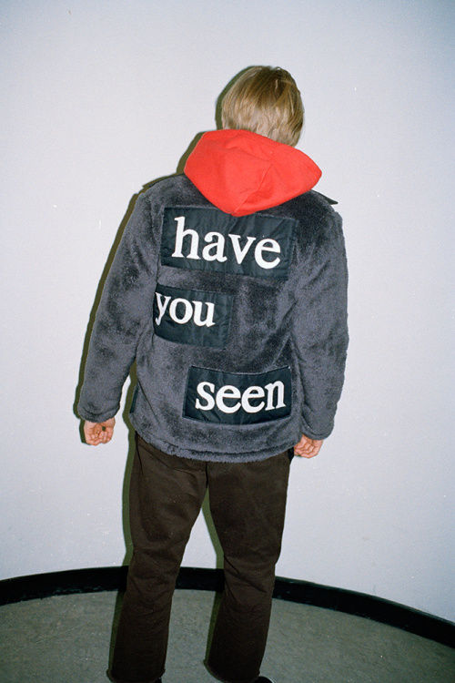 Missing Child-Inspired Menswear