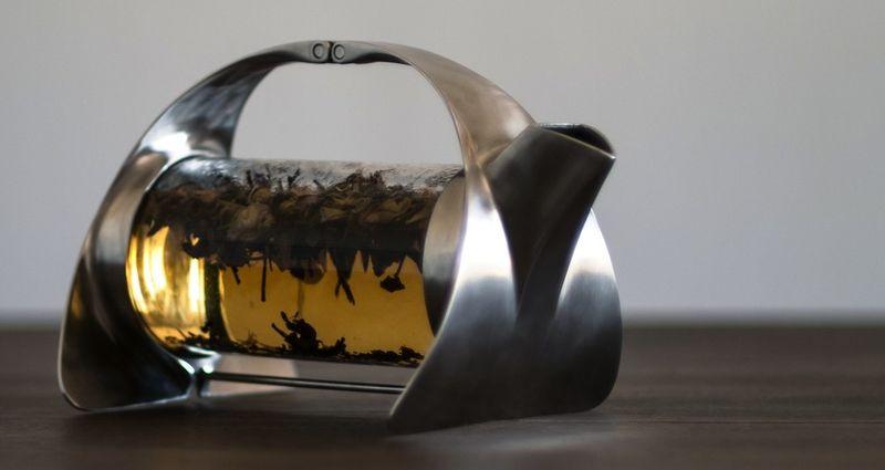 Contemporary Steel Teapots