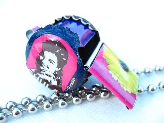 Repurposed Tin Whistles