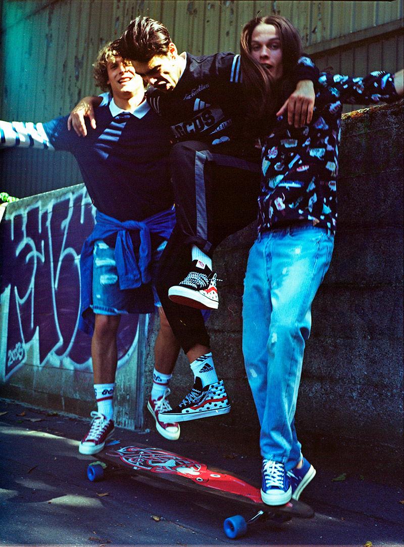 Nostalgic Skater Editorials