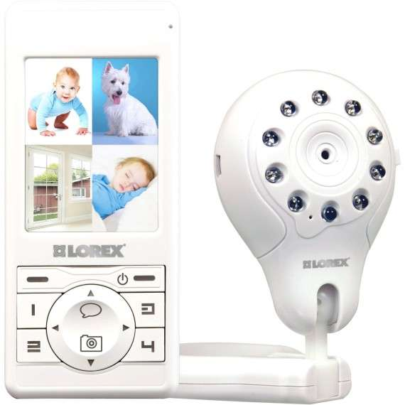 night vision baby monitors lorex lw2003 live snap. Black Bedroom Furniture Sets. Home Design Ideas