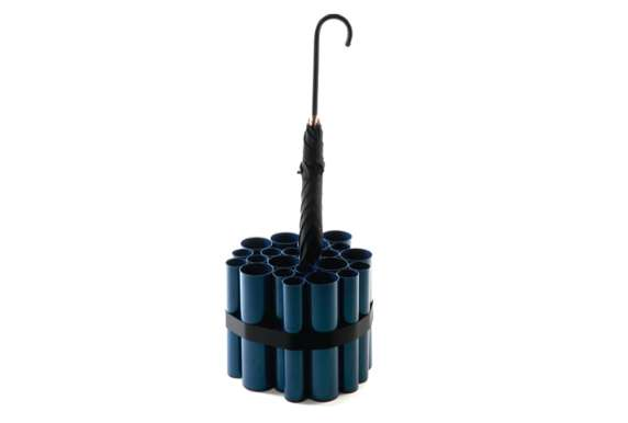 Piped Parasol Racks