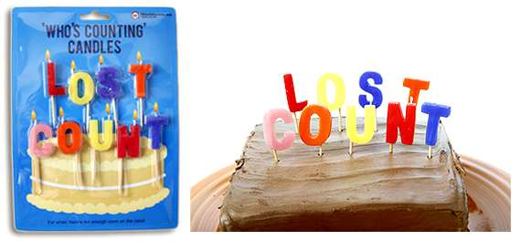 Lost Count Candles