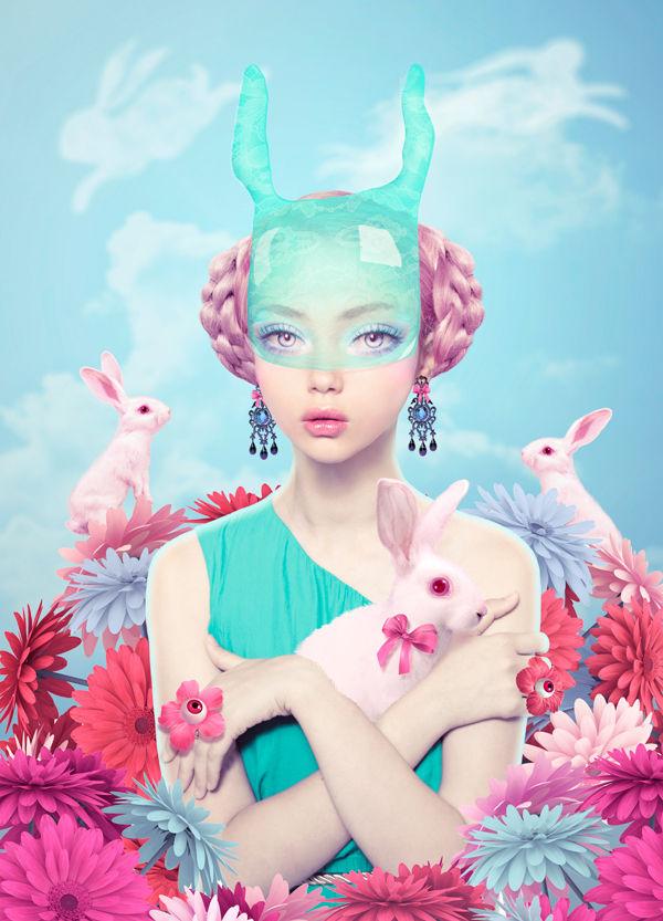 Surrealistic Wonderland Portraits