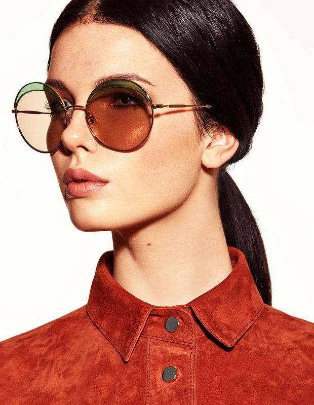 Vintage Eyewear Editorials Lotte Koolen Photoshoot