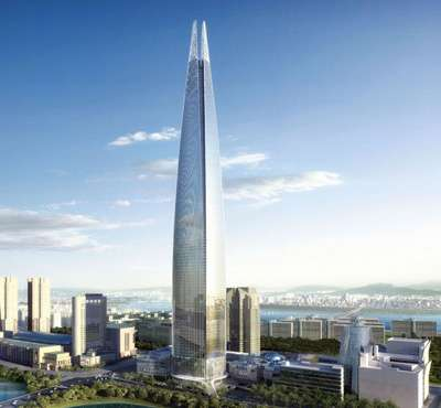 Missile-Shaped Mega Towers
