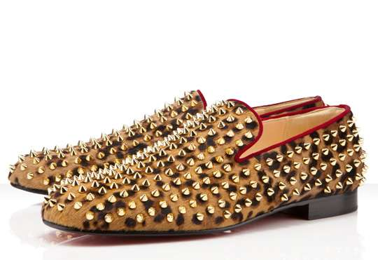 Leopard Spiked Shoes (UPDATE)