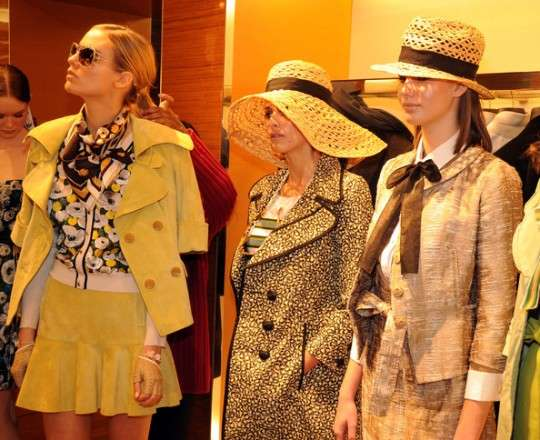 Louis Vuitton Cruise Trunk Show