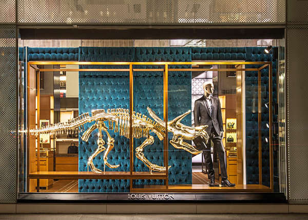 Louis Vuitton displays
