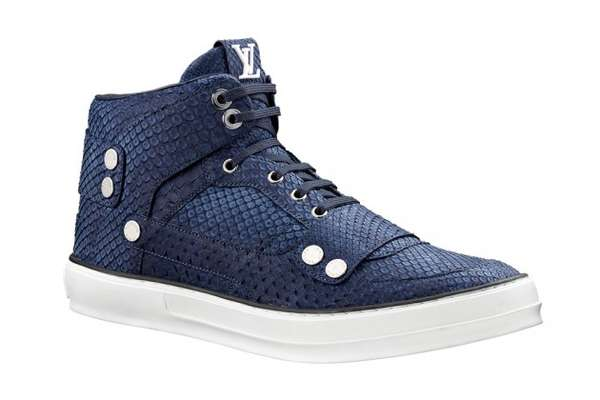 Python Patterned Luxury Sneakers