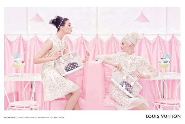 Louis Vuitton Spring 2012 Campaign
