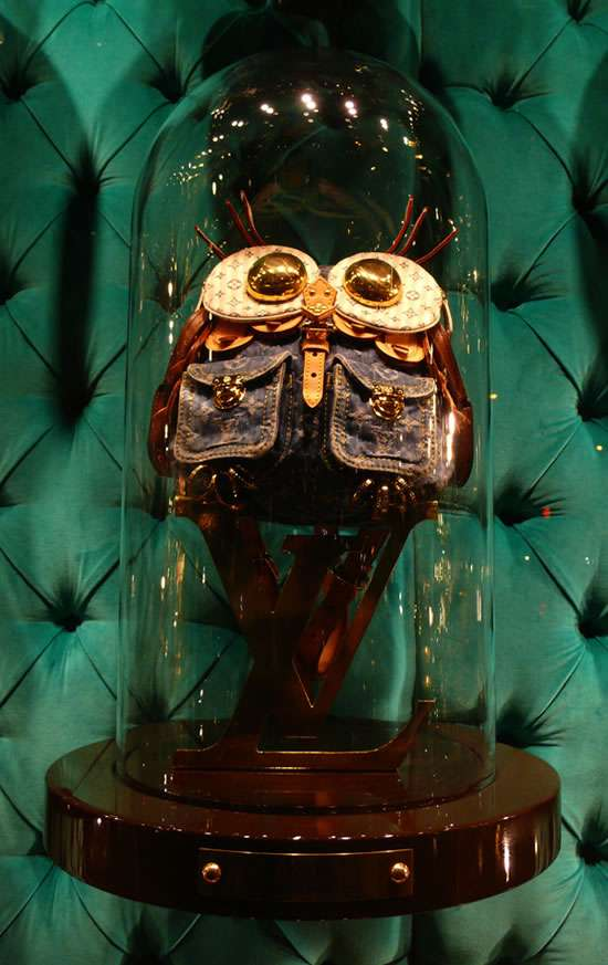 Louis Vuitton Window Animals
