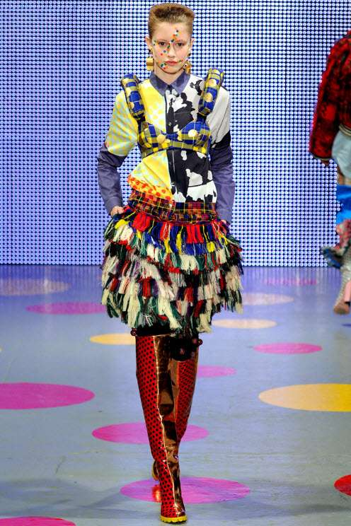 Kooky Colorful Fashions