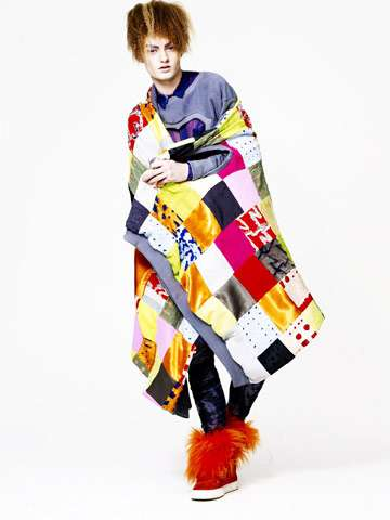 Colorful Quilted Fashion