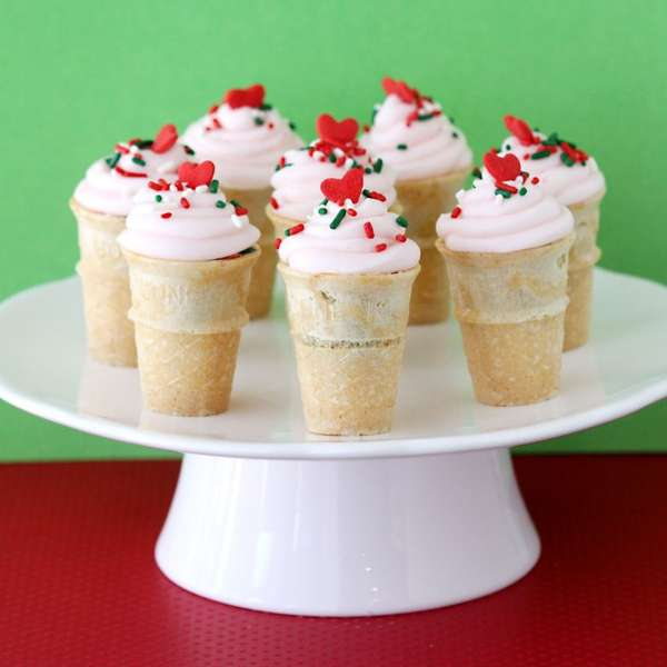 Christmas Coned Confections