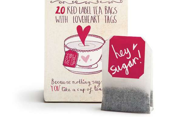 Love in a Cup Tea Packaging