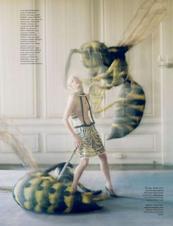 Eerie Insect Editorials