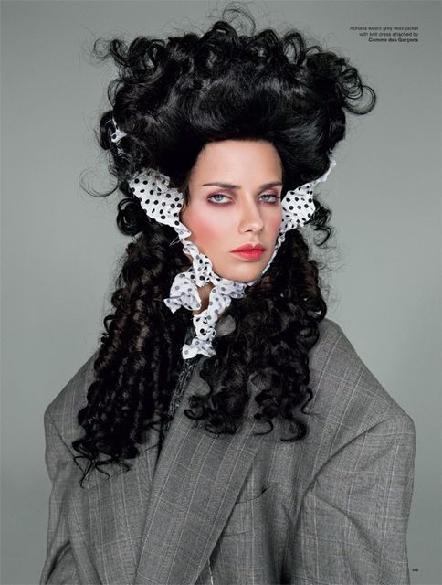 Vogue Victorian Era Editorials