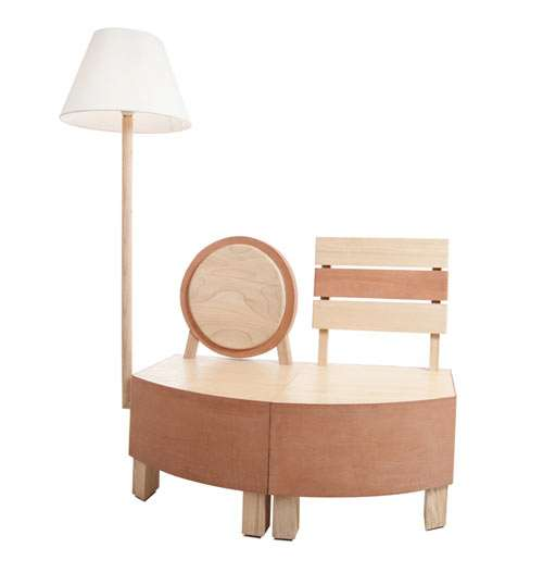Eclectically Compact Furniture