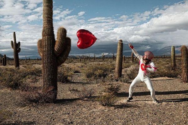 Wacky Cupid-Like Photoshoots