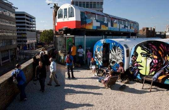 Subway Cars as Art Studios