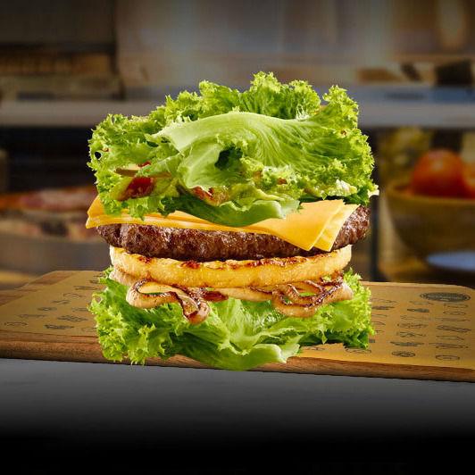 Lettuce-Wrapped Hamburgers