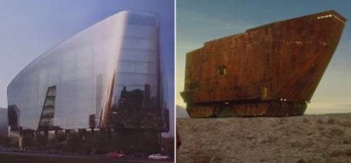 Sandcrawler-Like Structures