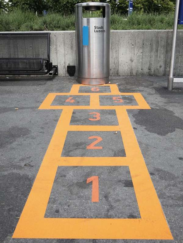 Hopscotch Trash Can Campaigns