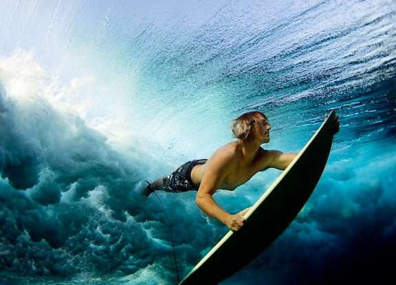 Submerged Surfer Snapshots