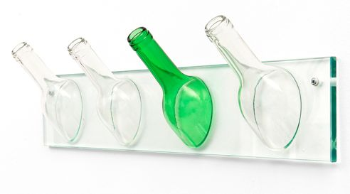 Recycled Bottle Hatracks