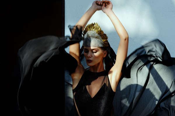 Sorceress-Inspired Lingerie