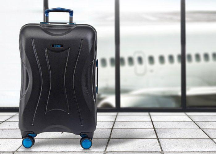 Fingerprint-Scanning Smart Luggage