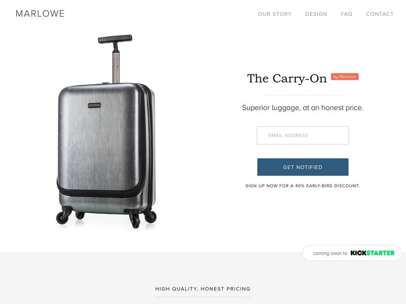 High-Quality Low-Cost Suitcases