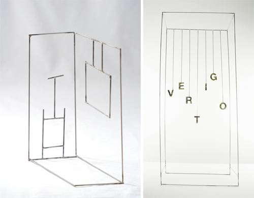 Minimalist 2D Sculptures