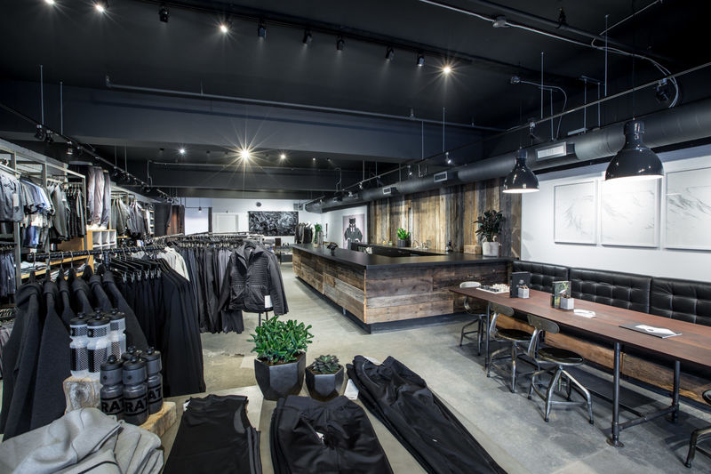 Menswear-Only Activewear Shops