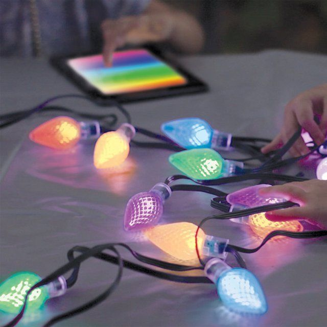 App-Enabled Holiday Lights